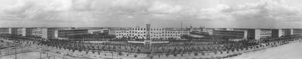 L'ancienne usine abritant aujourd'hui le quartier artistique de 798