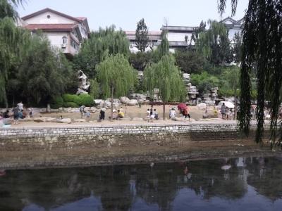 Le long du canal à Heihuquan 黑虎泉