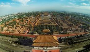 Pékin vu du ciel, filmé par undrone