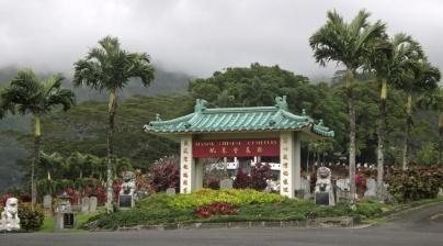 Cimetière chinois Feng shui