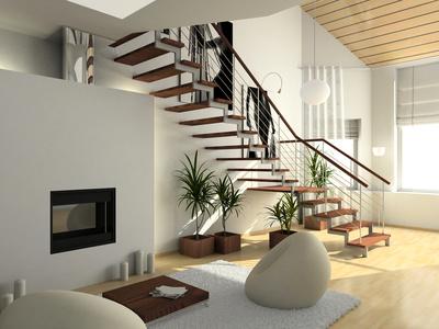 feng shui escalier