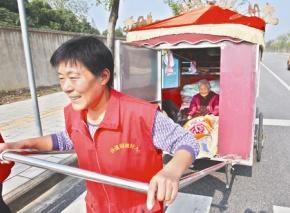 Un long voyage à travers la Chine… en charrette à bras!
