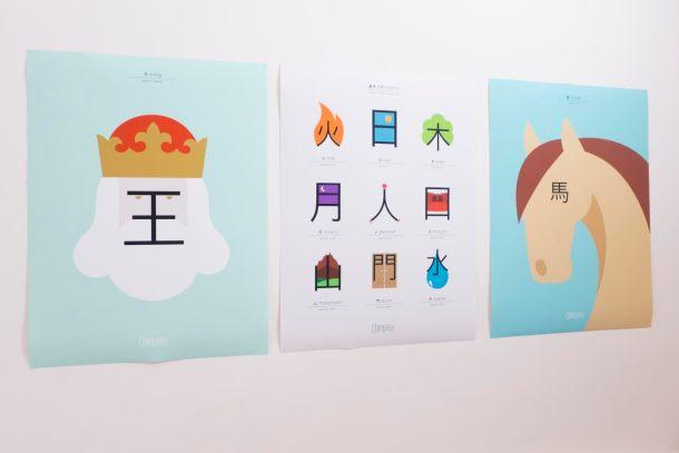 Plus d'exemples de la méthode Chineasy