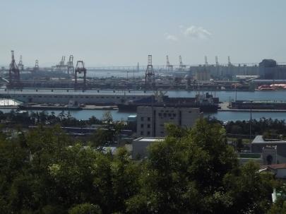 C'est aussi l'un des ports les plus importants, après celui de Busan. Photo © Pauline Kaufmann