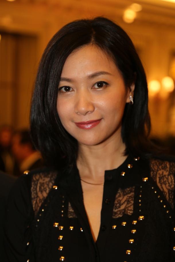 Xu Jinglei - Conférence de presse à l'Hotel Le Meurice (Paris)  Crédits photo : Loubaki / CN Kick