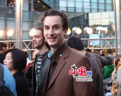 "Julien Gaudfroy lors du festival culturel ""Croisements"". Source: french.peopledaily.com.cn"
