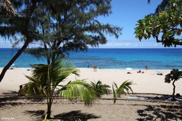 Plage Boucan Canot - île de La Réunion